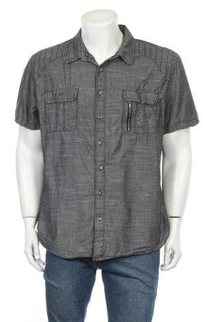Ανδρικό πουκάμισο Rock & Republic, Μέγεθος XXL, Χρώμα Γκρί, Τιμή 11,04€