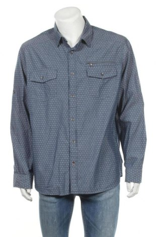 Ανδρικό πουκάμισο Rock & Republic, Μέγεθος XXL, Χρώμα Μπλέ, Βαμβάκι, Τιμή 9,94€