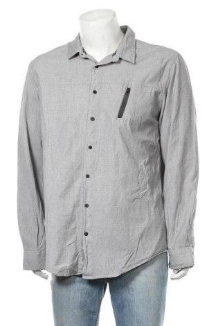 Ανδρικό πουκάμισο Rock & Republic, Μέγεθος XXL, Χρώμα Γκρί, Βαμβάκι, Τιμή 12,34€