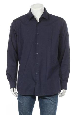 Ανδρικό πουκάμισο Strellson, Μέγεθος XL, Χρώμα Μπλέ, Βαμβάκι, Τιμή 36,80€