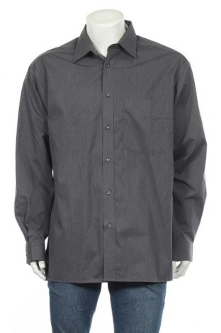 Ανδρικό πουκάμισο TCM, Μέγεθος XL, Χρώμα Γκρί, Βαμβάκι, Τιμή 11,69€