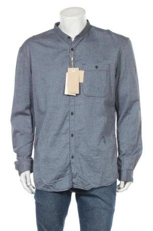 Ανδρικό πουκάμισο Tom Tailor, Μέγεθος XXL, Χρώμα Μπλέ, Βαμβάκι, Τιμή 8,54€