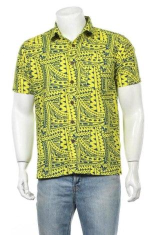 Ανδρικό πουκάμισο Tribal, Μέγεθος M, Χρώμα Κίτρινο, Βαμβάκι, Τιμή 11,69€