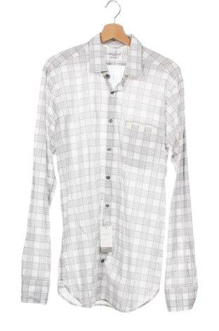 Ανδρικό πουκάμισο Van Laack, Μέγεθος M, Χρώμα Γκρί, Βαμβάκι, Τιμή 22,94€