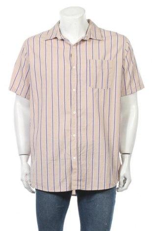 Мъжка риза Vintage, Размер XL, Цвят Бежов, Памук, Цена 5,39лв.