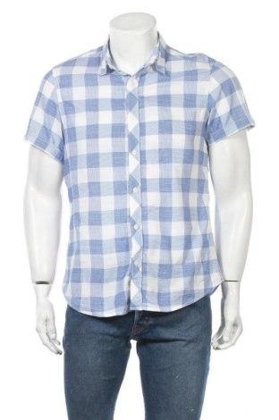 Мъжка риза WE, Размер L, Цвят Син, Памук, Цена 4,64лв.