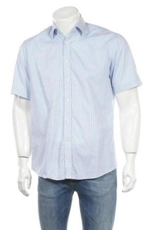 Мъжка риза Yorn, Размер M, Цвят Син, Цена 12,50лв.
