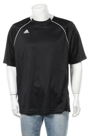 Pánské tričko  Adidas, Velikost XL, Barva Černá, Polyester, Cena  273,00Kč