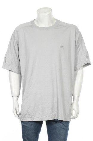 Pánské tričko  Adidas, Velikost XXL, Barva Šedá, Polyester, Cena  273,00Kč