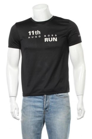 Pánské tričko  Boss Green, Velikost M, Barva Černá, Polyester, Cena  772,00Kč
