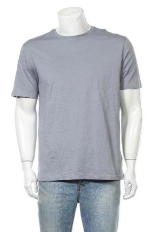 Ανδρικό t-shirt COS, Μέγεθος XL, Χρώμα Μπλέ, Βαμβάκι, Τιμή 30,66€