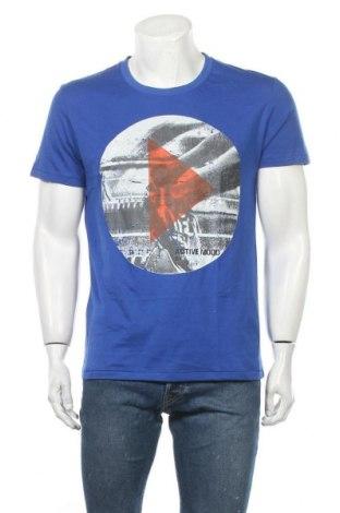 Мъжка тениска Casa Blanca, Размер M, Цвят Син, Памук, Цена 13,97лв.