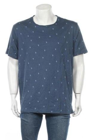 Мъжка тениска Connor, Размер XXL, Цвят Син, Памук, Цена 8,40лв.