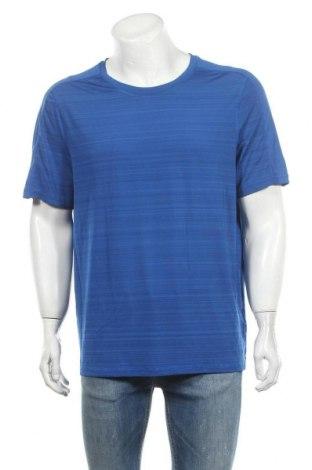 Мъжка тениска Crane, Размер L, Цвят Син, 90% полиестер, 10% еластан, Цена 14,28лв.