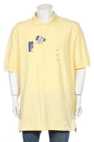 Ανδρικό t-shirt Croft & Barrow, Μέγεθος XXL, Χρώμα Κίτρινο, Βαμβάκι, Τιμή 18,70€