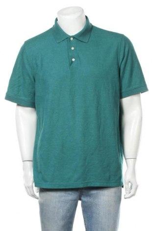 Ανδρικό t-shirt Croft & Barrow, Μέγεθος XL, Χρώμα Πράσινο, Βαμβάκι, Τιμή 8,77€