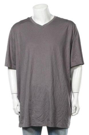 Ανδρικό t-shirt Croft & Barrow, Μέγεθος 3XL, Χρώμα Γκρί, 60% βαμβάκι, 40% πολυεστέρας, Τιμή 16,89€