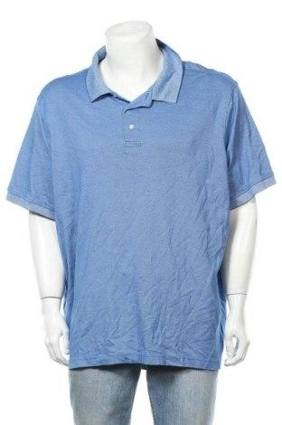 Ανδρικό t-shirt Croft & Barrow, Μέγεθος XXL, Χρώμα Μπλέ, 65% βαμβάκι, 35% πολυεστέρας, Τιμή 11,69€