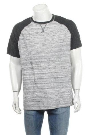 Ανδρικό t-shirt Denver Hayes, Μέγεθος XXL, Χρώμα Γκρί, 60% βαμβάκι, 40% πολυεστέρας, Τιμή 8,28€