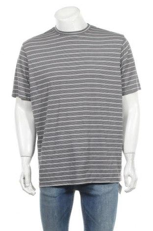Ανδρικό t-shirt Denver Hayes, Μέγεθος L, Χρώμα Γκρί, 62% μοντάλ, 38% πολυεστέρας, Τιμή 7,31€
