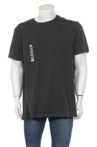 Ανδρικό t-shirt Denver Hayes, Μέγεθος XXL, Χρώμα Γκρί, 95% βαμβάκι, 5% ελαστάνη, Τιμή 22,21€