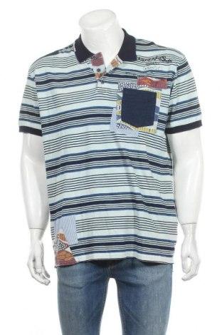 Pánské tričko  Desigual, Velikost XXL, Barva Modrá, Bavlna, Cena  555,00Kč