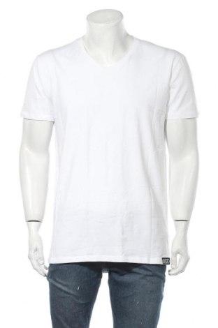 Ανδρικό t-shirt Diesel, Μέγεθος XXL, Χρώμα Λευκό, 95% βαμβάκι, 5% ελαστάνη, Τιμή 29,60€