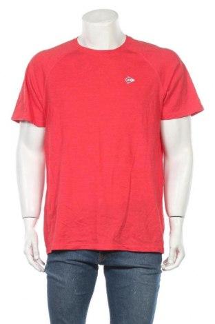 Ανδρικό t-shirt Dunlop, Μέγεθος XXL, Χρώμα Κόκκινο, Βαμβάκι, πολυεστέρας, Τιμή 13,64€
