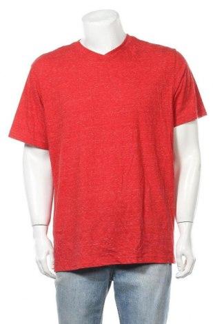 Мъжка тениска Faded Glory, Размер XL, Цвят Червен, 60% памук, 40% полиестер, Цена 13,44лв.
