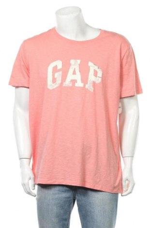 Pánské tričko  Gap, Velikost XXL, Barva Růžová, Bavlna, Cena  439,00Kč