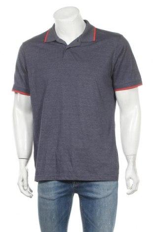 Ανδρικό t-shirt Identic, Μέγεθος XL, Χρώμα Μπλέ, 50% βαμβάκι, 50% πολυεστέρας, Τιμή 8,28€