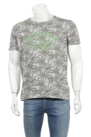 Ανδρικό t-shirt Identic, Μέγεθος L, Χρώμα Γκρί, 90% βαμβάκι, 10% βισκόζη, Τιμή 7,73€