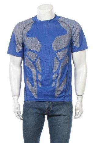 Мъжка тениска Inoc, Размер L, Цвят Син, Полиестер, Цена 16,07лв.