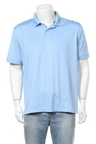Мъжка тениска Izod, Размер L, Цвят Син, Цена 14,28лв.