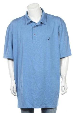 Ανδρικό t-shirt Nautica, Μέγεθος 3XL, Χρώμα Μπλέ, 88% πολυεστέρας, 12% ελαστάνη, Τιμή 16,96€