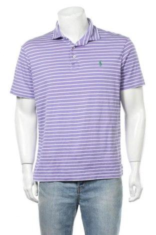 Pánské tričko  Polo By Ralph Lauren, Velikost L, Barva Fialová, Bavlna, Cena  576,00Kč