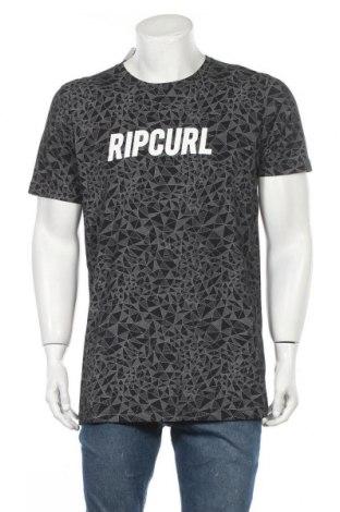 Ανδρικό t-shirt Rip Curl, Μέγεθος XL, Χρώμα Γκρί, Βαμβάκι, Τιμή 17,54€