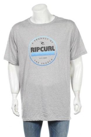 Ανδρικό t-shirt Rip Curl, Μέγεθος XXL, Χρώμα Γκρί, 85% πολυεστέρας, 15% βαμβάκι, Τιμή 35,79€