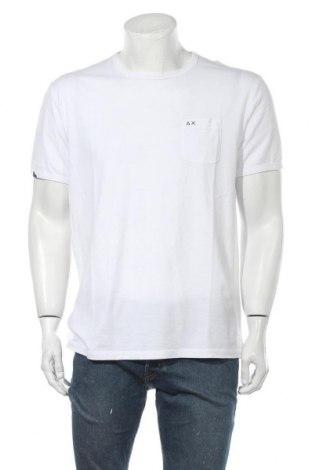 Ανδρικό t-shirt SUN68, Μέγεθος XXL, Χρώμα Λευκό, Βαμβάκι, Τιμή 18,85€