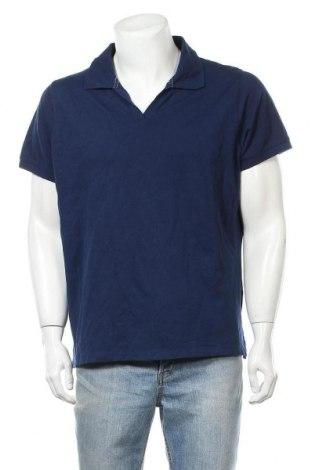Ανδρικό t-shirt St. John's Bay, Μέγεθος XXL, Χρώμα Μπλέ, 97% βαμβάκι, 3% ελαστάνη, Τιμή 11,04€
