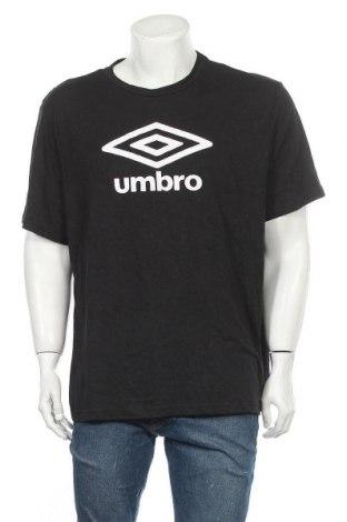 Pánské tričko  Umbro, Velikost XXL, Barva Šedá, 60% polyester, 28% bavlna, 12% viskóza, Cena  212,00Kč