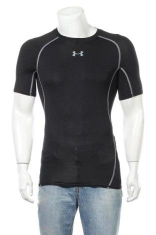 Ανδρικό t-shirt Under Armour, Μέγεθος S, Χρώμα Μαύρο, 92% πολυεστέρας, 8% ελαστάνη, Τιμή 19,55€
