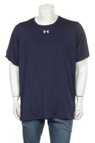Pánské tričko  Under Armour, Velikost XXL, Barva Modrá, Polyester, Cena  485,00Kč