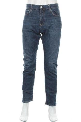 Ανδρικό τζίν Calvin Klein Jeans, Μέγεθος L, Χρώμα Μπλέ, 98% βαμβάκι, 2% ελαστάνη, Τιμή 48,44€