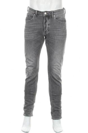 Ανδρικό τζίν Calvin Klein Jeans, Μέγεθος M, Χρώμα Γκρί, 97% βαμβάκι, 3% ελαστάνη, Τιμή 41,53€