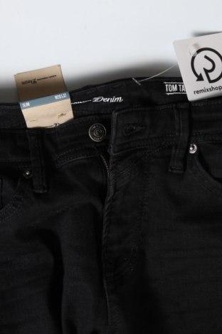 Pánské džíny  Tom Tailor, Velikost S, Barva Černá, 99% bavlna, 1% elastan, Cena  750,00Kč