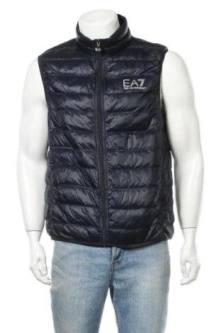 Pánská vesta  Emporio Armani, Velikost XXL, Barva Modrá, Polyamide, peří, Cena  2846,00Kč