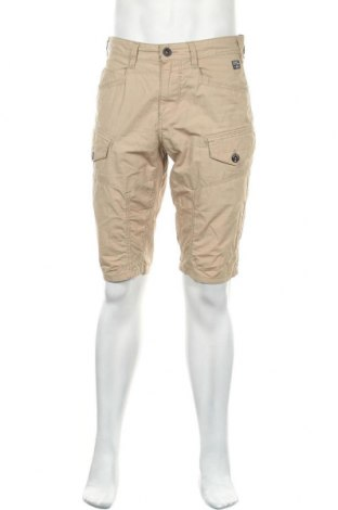 Мъжки къс панталон Angelo Litrico, Размер L, Цвят Бежов, Цена 12,13лв.