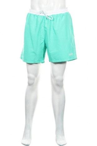 Pantaloni scurți de bărbați Boss, Mărime L, Culoare Verde, Poliester, Preț 188,13 Lei