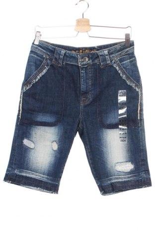 Ανδρικό κοντό παντελόνι Desigual, Μέγεθος S, Χρώμα Μπλέ, 99% βαμβάκι, 1% ελαστάνη, Τιμή 18,40€